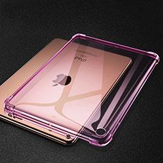 Coque Ultra Fine TPU Souple Housse Etui Transparente H01 pour Apple iPad Mini 5 (2019) Rose