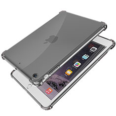 Coque Ultra Fine TPU Souple Housse Etui Transparente H01 pour Apple iPad Mini Noir