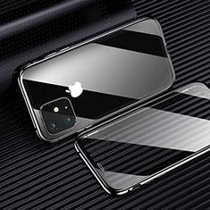Coque Ultra Fine TPU Souple Housse Etui Transparente H01 pour Apple iPhone 11 Noir
