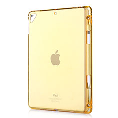 Coque Ultra Fine TPU Souple Housse Etui Transparente H01 pour Apple New iPad 9.7 (2017) Or