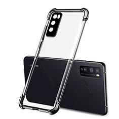 Coque Ultra Fine TPU Souple Housse Etui Transparente H01 pour Huawei Enjoy 20 Pro 5G Noir