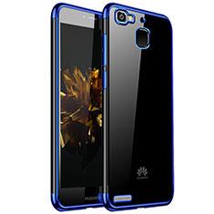 Coque Ultra Fine TPU Souple Housse Etui Transparente H01 pour Huawei Enjoy 5S Bleu