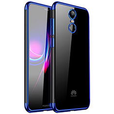Coque Ultra Fine TPU Souple Housse Etui Transparente H01 pour Huawei Enjoy 6 Bleu