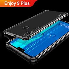 Coque Ultra Fine TPU Souple Housse Etui Transparente H01 pour Huawei Enjoy 9 Plus Noir
