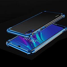 Coque Ultra Fine TPU Souple Housse Etui Transparente H01 pour Huawei Enjoy 9e Bleu