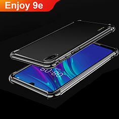 Coque Ultra Fine TPU Souple Housse Etui Transparente H01 pour Huawei Enjoy 9e Noir