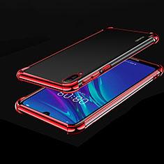 Coque Ultra Fine TPU Souple Housse Etui Transparente H01 pour Huawei Enjoy 9e Rouge