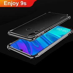 Coque Ultra Fine TPU Souple Housse Etui Transparente H01 pour Huawei Enjoy 9s Noir