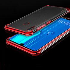 Coque Ultra Fine TPU Souple Housse Etui Transparente H01 pour Huawei Enjoy Max Rouge
