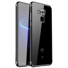 Coque Ultra Fine TPU Souple Housse Etui Transparente H01 pour Huawei G9 Plus Noir