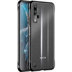 Coque Ultra Fine TPU Souple Housse Etui Transparente H01 pour Huawei Honor 20 Noir