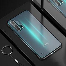 Coque Ultra Fine TPU Souple Housse Etui Transparente H01 pour Huawei Honor 20 Pro Noir