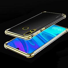 Coque Ultra Fine TPU Souple Housse Etui Transparente H01 pour Huawei Honor 20E Or