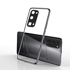 Coque Ultra Fine TPU Souple Housse Etui Transparente H01 pour Huawei Honor 30 Pro Noir