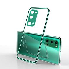 Coque Ultra Fine TPU Souple Housse Etui Transparente H01 pour Huawei Honor 30 Pro Vert