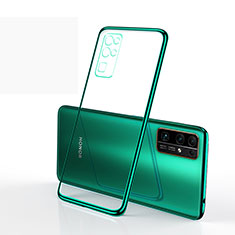 Coque Ultra Fine TPU Souple Housse Etui Transparente H01 pour Huawei Honor 30 Vert
