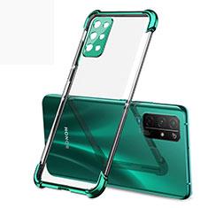 Coque Ultra Fine TPU Souple Housse Etui Transparente H01 pour Huawei Honor 30S Vert