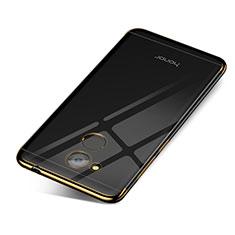 Coque Ultra Fine TPU Souple Housse Etui Transparente H01 pour Huawei Honor 6C Pro Or