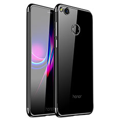 Coque Ultra Fine TPU Souple Housse Etui Transparente H01 pour Huawei Honor 8 Lite Noir