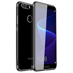 Coque Ultra Fine TPU Souple Housse Etui Transparente H01 pour Huawei Honor 8 Noir