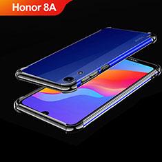 Coque Ultra Fine TPU Souple Housse Etui Transparente H01 pour Huawei Honor 8A Noir