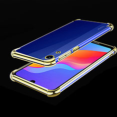 Coque Ultra Fine TPU Souple Housse Etui Transparente H01 pour Huawei Honor 8A Or