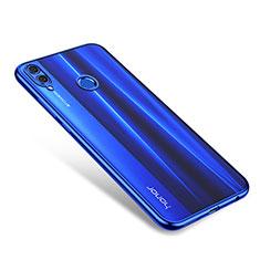 Coque Ultra Fine TPU Souple Housse Etui Transparente H01 pour Huawei Honor 8X Bleu