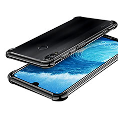Coque Ultra Fine TPU Souple Housse Etui Transparente H01 pour Huawei Honor 8X Max Noir