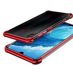 Coque Ultra Fine TPU Souple Housse Etui Transparente H01 pour Huawei Honor 8X Max Rouge