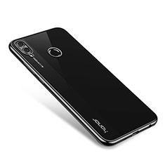 Coque Ultra Fine TPU Souple Housse Etui Transparente H01 pour Huawei Honor 8X Noir
