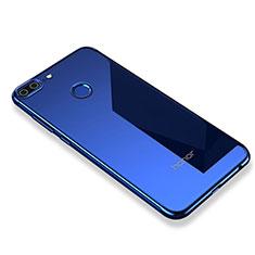 Coque Ultra Fine TPU Souple Housse Etui Transparente H01 pour Huawei Honor 9 Lite Bleu