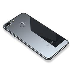 Coque Ultra Fine TPU Souple Housse Etui Transparente H01 pour Huawei Honor 9 Lite Gris