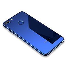 Coque Ultra Fine TPU Souple Housse Etui Transparente H01 pour Huawei Honor 9i Bleu