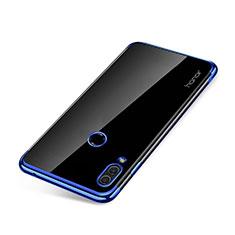 Coque Ultra Fine TPU Souple Housse Etui Transparente H01 pour Huawei Honor Note 10 Bleu