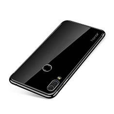 Coque Ultra Fine TPU Souple Housse Etui Transparente H01 pour Huawei Honor Note 10 Noir