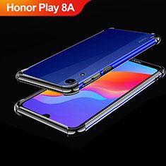 Coque Ultra Fine TPU Souple Housse Etui Transparente H01 pour Huawei Honor Play 8A Noir