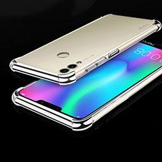 Coque Ultra Fine TPU Souple Housse Etui Transparente H01 pour Huawei Honor Play 8C Argent