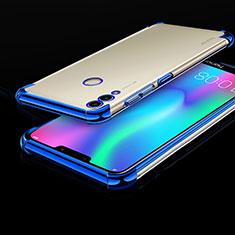 Coque Ultra Fine TPU Souple Housse Etui Transparente H01 pour Huawei Honor Play 8C Bleu