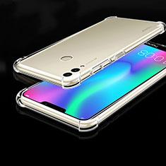 Coque Ultra Fine TPU Souple Housse Etui Transparente H01 pour Huawei Honor Play 8C Clair