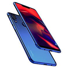 Coque Ultra Fine TPU Souple Housse Etui Transparente H01 pour Huawei Honor Play Bleu