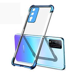 Coque Ultra Fine TPU Souple Housse Etui Transparente H01 pour Huawei Honor Play4T Pro Bleu