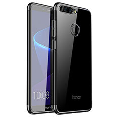 Coque Ultra Fine TPU Souple Housse Etui Transparente H01 pour Huawei Honor V9 Noir