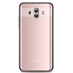 Coque Ultra Fine TPU Souple Housse Etui Transparente H01 pour Huawei Mate 10 Noir