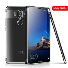 Coque Ultra Fine TPU Souple Housse Etui Transparente H01 pour Huawei Mate 10 Pro Argent
