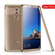 Coque Ultra Fine TPU Souple Housse Etui Transparente H01 pour Huawei Mate 10 Pro Or