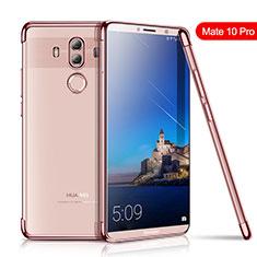 Coque Ultra Fine TPU Souple Housse Etui Transparente H01 pour Huawei Mate 10 Pro Or Rose