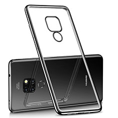 Coque Ultra Fine TPU Souple Housse Etui Transparente H01 pour Huawei Mate 20 Noir