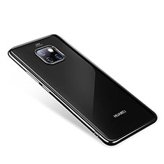 Coque Ultra Fine TPU Souple Housse Etui Transparente H01 pour Huawei Mate 20 Pro Noir
