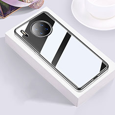 Coque Ultra Fine TPU Souple Housse Etui Transparente H01 pour Huawei Mate 30 Noir