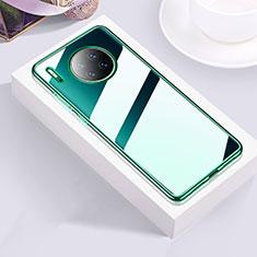 Coque Ultra Fine TPU Souple Housse Etui Transparente H01 pour Huawei Mate 30 Vert